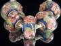 Бусины ПАНДОРА (Pandora Style ) для браслета PANDOPA вставка серебро 925