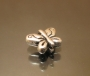 Бусина металлическая бабочка #00193