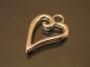 Подвеска сердце  #00744