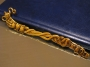 Закладка для книг. Основа Чаепитие золотистая  #00927