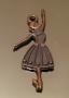 Подвеска Балерина  двухсторонняя #01060