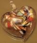 Кулон Лэмпворк Сердце #01350