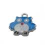 Подвеска сова голубая  #01654