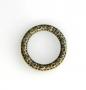 Коннектор  кольцо бронза #01919