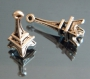 Подвеска Эйфелева башня 3D #02159