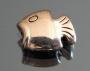 Бусина Рыбка 10х8мм #02292