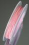 Ювелирный тросик розовый 10м #00925/16