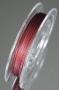 Ювелирный тросик темно-вишневый 10м #00925/18