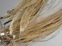 Шнурок двойной с органзой Светло-бежевый #01634/3