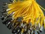 Шнурок якро-желтый  #02389