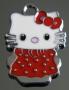 Подвеска Кити красная  #00785/4