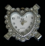 Часы  с кристаллами #02564