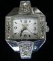 Часы  с кристаллами #02578