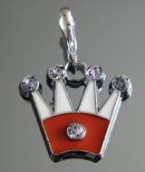Подвеска Корона на браслет #02824