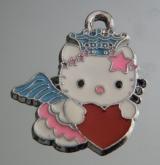 Подвеска Кити с сердечком #02889
