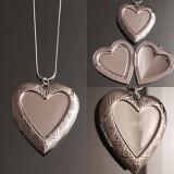 Кулон серебряный для фотографии  #03006