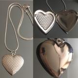 Кулон серебряный для фотографии  #03007