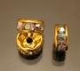 Рондели 8мм мультиколор кристаллы #00775