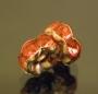 Рондели 8мм розовые  кристаллы #02084