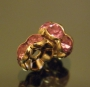 Рондели 8мм сиреневые кристаллы #02085