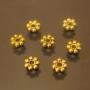 Бусна разделитель Дейзи Античное золото 4мм #01247