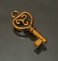 Подвеска золотой ключик  #01266