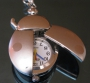 Часы Божья коровка серебристая БЕЗ ЦЕПОЧКИ #01152