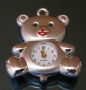 Часы Кулон  Мишка   #01318