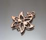 Коннектор  Ажурный цветок #01376