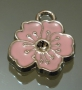 Подвеска Цветок Розовый #01531