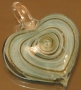 Кулон Лэмпворк Сердце  #00437