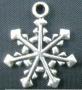 Подвеска снежинка  #01003/1