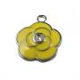 Подвеска Желтая роза #01663