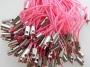 Шнурок Розовый  #01907