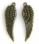 Подвеска Крыло Ангела бронза #01924