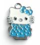 Подвеска Кити голубая  #00785