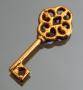 Подвеска золотой ключик  #02096