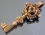 Подвеска ключик Бронза #02143