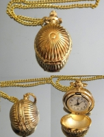 Часы Кулон на цепочке #2324