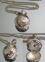 Часы Кулон на цепочке #2325