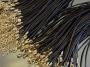 Шнурок вощеный 1,8мм с замочком и удлиняющей цепочкой#02202