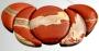 Набор подвесок из натурального камня Яшма #02392