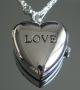 Часы Кулон Сердце #02394