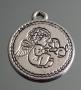 Подвеска медальон   #00661