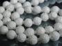 Бусина Коралл белый, Резной 8мм #02465