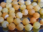 Бусина Агат Кракле Оранжевый 10мм  #02470