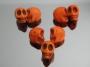 Бусина Череп  12-10мм #02551