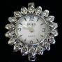 Часы  с кристаллами #02576