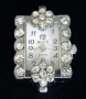 Часы  с кристаллами #02580