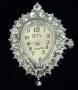 Часы  с кристаллами #02581